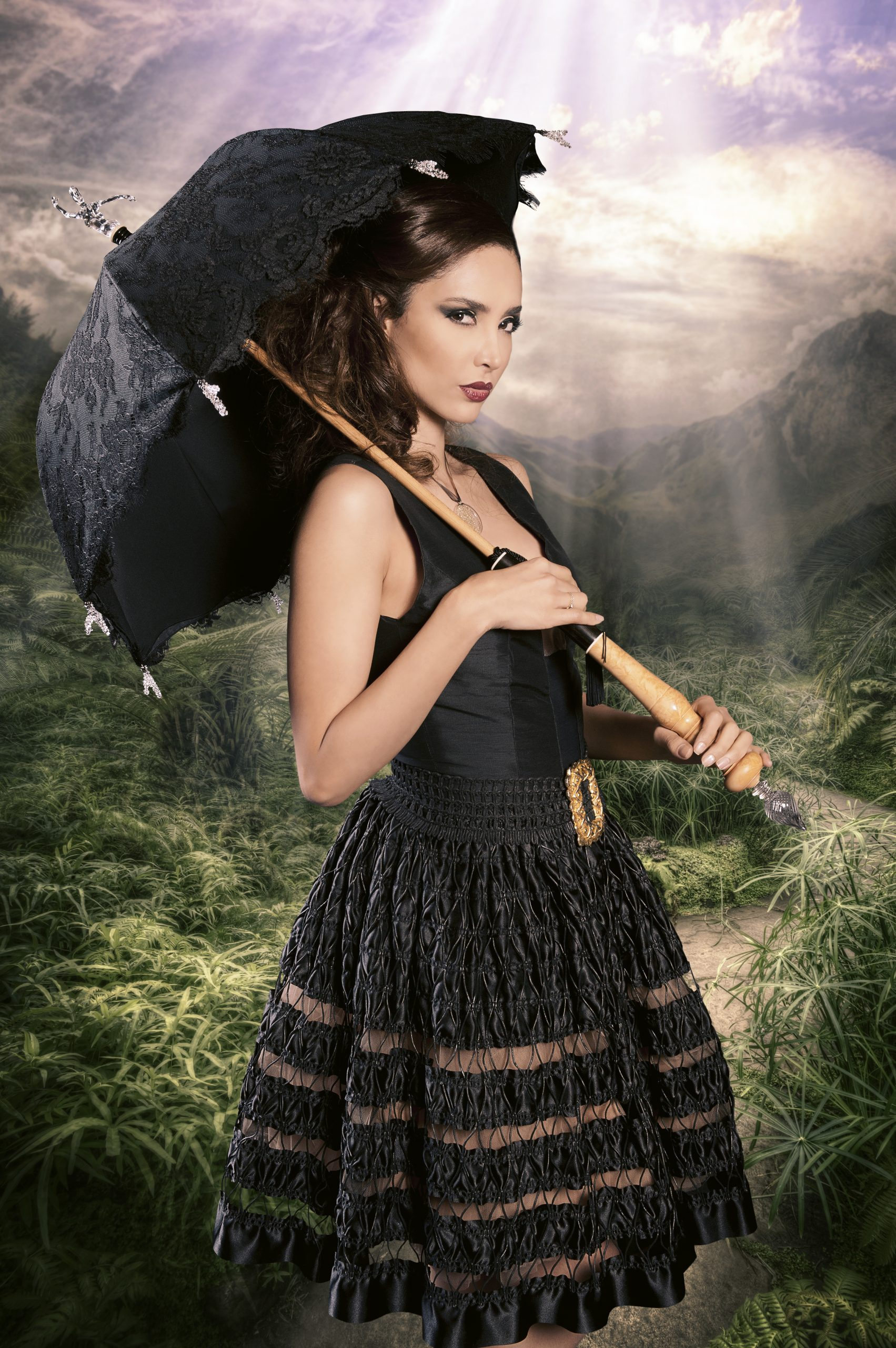 Petite robe noire Sylvie Facon