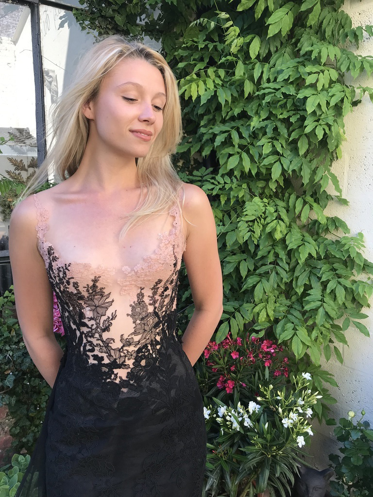 Petite robe noire sexy, Sylvie Facon