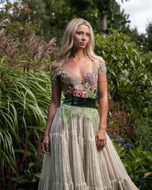 Sylvie Facon, robe inspiration florale, robes fleuries