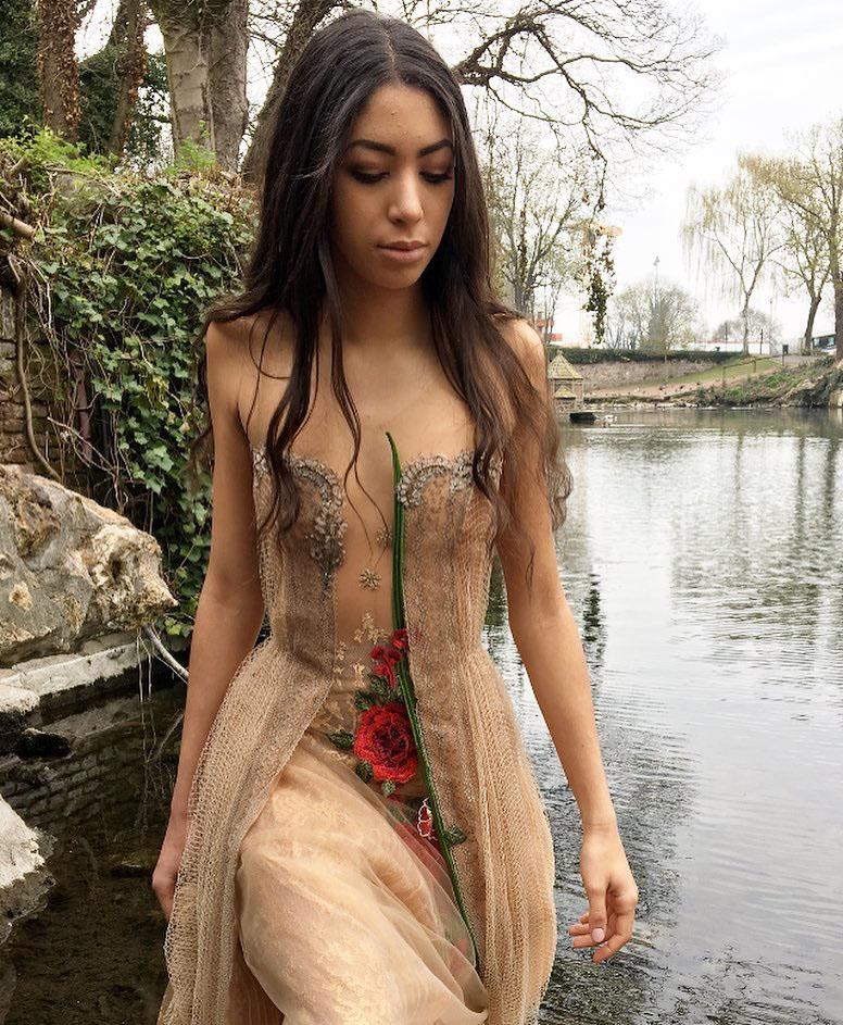 Robe fleurie Sylvie Facon
