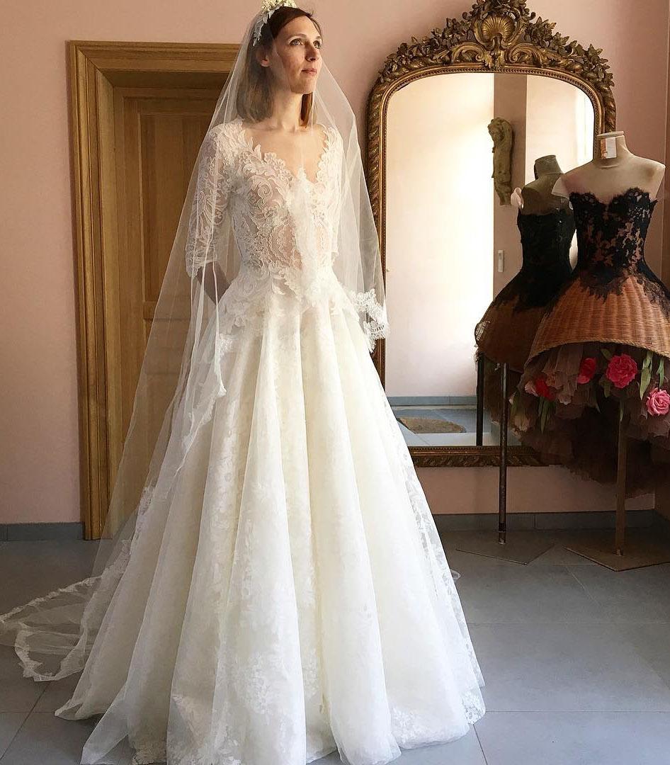 Robe de mariée Sylvie Facon