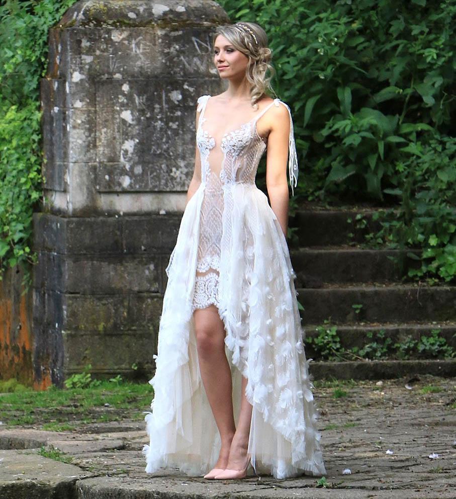 Robe de mariée Sylvie Facon, nymphe