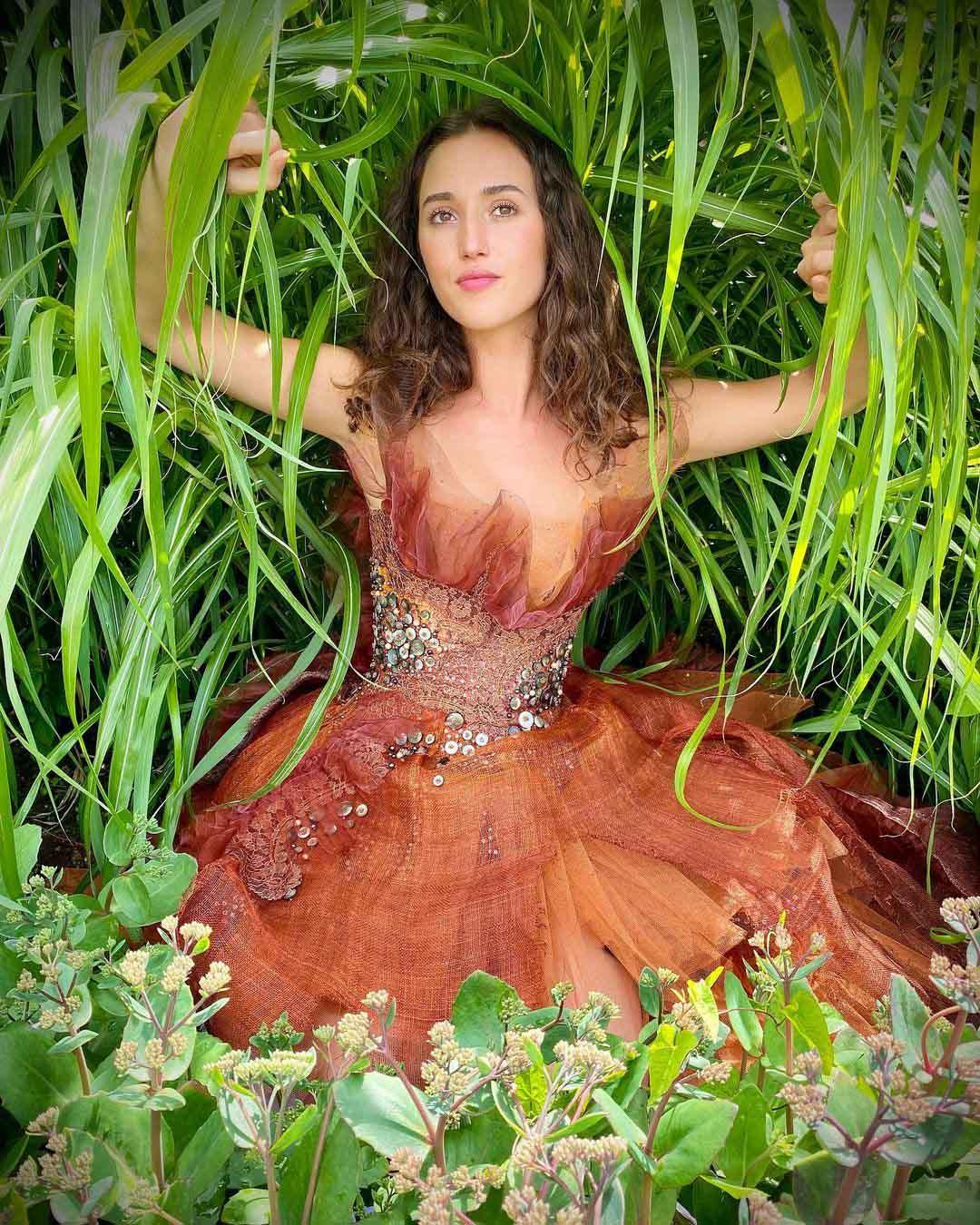 Robe de soirée disponible, Sylvie Facon, la flamme